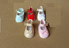 """Doll Shoes - S260 Mary Jane size 7 (1-3/4"""" length): CHOICE of color."""