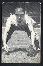 Vintage 1953 Billy Martin Autographed JD McCarthy Yankees Postcard