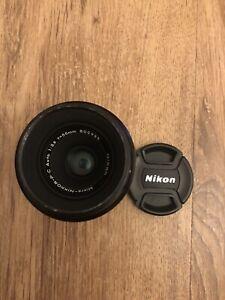 Nikon Micro Nikkor P.C Auto 55mm f/3.5 Macro MF Lens