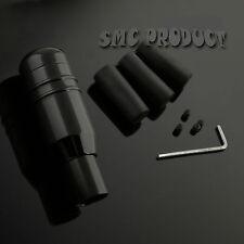 Black Carbon Shift Knob Universal 5 6 Speed Manual Car Gear Lever Stick Aluminum