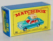 Matchbox Lesney 55 FIAT 1500 empty Repro style E Box