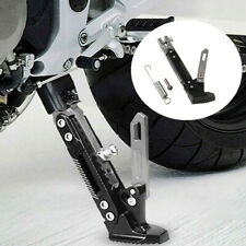 Universal CNC Motorcycle Adjustable 165-235mm Kickstands Foot Bracket Side Stand