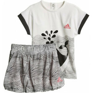 adidas girls baby/infant fun skirt & top set. Summer set. Various sizes!