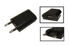 1000mAh Schwarz Universal USB Netzteil Ladegerät Reiselader Lade Adapter 230V