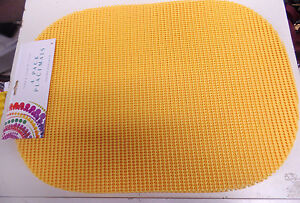 """PLACE MATS--13"""" X 18"""" EASY CLEAN-POLYVINYL CHLORIDE AND POLYESTER--SET OF 4"""