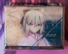 Fate/Grand Order Okita Souji Sakura Saber Deckbox Broccoli NEW MTG Pokemon FGO