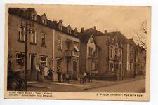 FALCK Moselle CPA 57 rue de la Gare TABAC EPICERIE Maison BERVALD