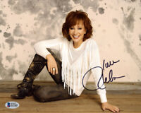 REBA McENTIRE SIGNED AUTOGRAPHED 8x10 PHOTO COUNTRY MUSIC LEGEND BECKETT BAS
