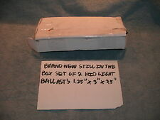 HID PAIR 2 BALLAST BRAND NEW STILL IN THE BOX 1.25 X 3 X 3.5 FREE SHIPPING!