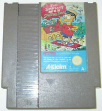 THE SIMPSONS BART vs THE SPACE MUTANTS - Nintendo NES Game - PAL Version