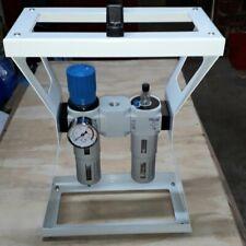 Handy Luft Druckregler & Schmieröl Trage Set mit Griff, 1/2 Bsp , Auto Rohr