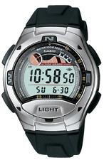 Casio  W-753  W-753-1AV   Digital  100m  Sport  Watch   Black   Dual Time   W753