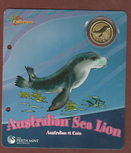 Young Collectors - 2008 Sea Lion - Uncirculated $1 coin  .......   .. kt