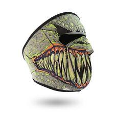Neoprene Full Face Mask Biker SKULL Sports Motorbike REVERSIBLE Monster mask
