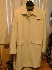 ANNE KLEIN women raincoat size 14
