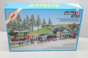 Kibri 6701 Building Kit Railway Station Seebruck Gauge Z Original Packaging
