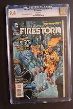 FURY OF FIRESTORM #19 New 52 1st CAITLIN SNOW 2013 Killer Frost TV Flash CGC 9.4