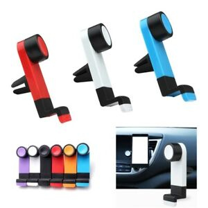 One-line Simple Car Phone Holder Air Vent Clip Mount 360 Rotation Universal