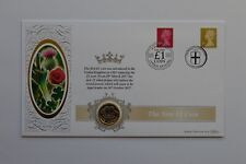 More details for 2017 the new £1 coin cover benham
