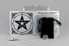 Pentagram Oracle Kit -  Pentagram Pendulum, Case, Instructions