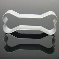 Dog Bone Shape Novelty Cookie Cutter Fondant Biscuit Cake Craft Baking Mold