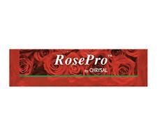 Chrysal Rose Pro Flower Food Liquid Packets - 10 Packets - 1 Packet Treats 1 Qt