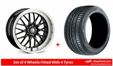 3 Series Cades 5 Car Wheels with Tyres