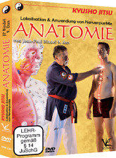 Kyusho-Jitsu DVD Lokalisation & Anwendung von Nervenpunkte Anatomie J.P. Bindel