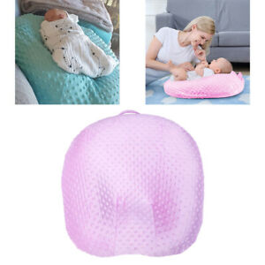 Fabric Breathable Baby Lounger Pillow Cover Removable Slipcover for Babies