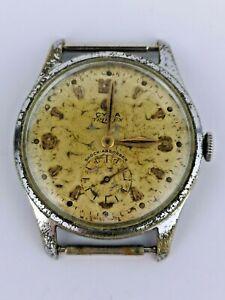 Vintage Cyma Triplex Watch - Working But Needs Restoration (BN65)