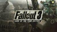 Fallout 3 Game of the Year Edition GOTY Steam Game Key (PC) -- Region Free