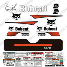 Bobcat T870 Compact Track Loader Decal Kit Skid Steer (Curved Stripes)