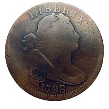 Large cent/penny 1798/7 overdate collector coin