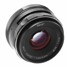 Meike 35mm F1.7 Large Aperture Manual Focus Fixed Lens For Canon EOS M100 M6 M5