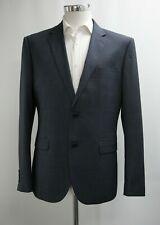 Neues AngebotHerren Signature Slim Fit 2pc Anzug in Karo Dunkelblau (40r)... ref: 6876