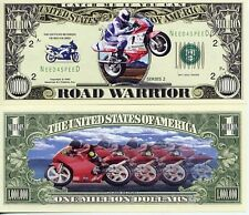 ROAD WARRIOR BILLET ONE MILLION DOLLAR ! COLLECTION BIKER Moto Motard japonaise