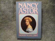 Nancy Astor The Lady From Virginia Derek Marlowe 1982 Hardcover Book Dell Books