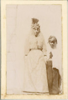 Algérie, Laghouat Vintage print. Tirage citrate  4x8  Circa 1900