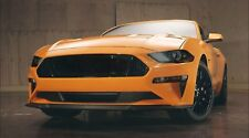 2018+ Mustang Euro [FREU] Complete Front and Rear Lens Red/Smoke Tint Kit
