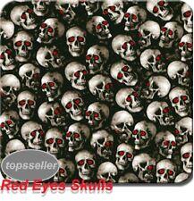 New listing 0.5M*10M Water Transfer Printing Film, Hydrographic film,Red Eyes Skulls Pattern