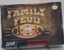 Super Nintendo SNES FAMILY FUED Complete w/ Box, Tray and Manual