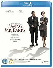 SAVING MR BANKS - BLU RAY - MARY POPPINS STORY - NEW SEALED