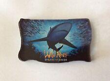 Wild Reef Sharks at Shedd Chicago Illinois Acrylic Fridge Magnet
