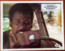 RICHARD ROUNDTREE PSA DNA Coa Autograph 9x11 Shaft Lobby Card Photo Hand Signed
