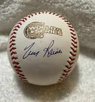 TIM RAINES Signed autographed 2005 WORLD SERIES BASEBALL CHICAGO WHITE SOX