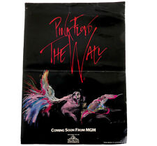 Pink Floyd The Wall *VERY RARE* Promotional pre release Fold Out Card Poster