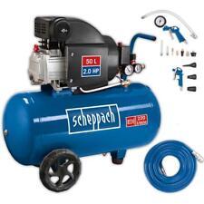 Scheppach Kompressor 50L Luftkompressor 8bar 2PS ölgeschmiert HC54 Druckluft