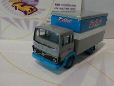 "Brekina 34752 - Volvo F 613 Kastenwagen "" Svelast "" in blau-grau-weiß 1:87 NEU"