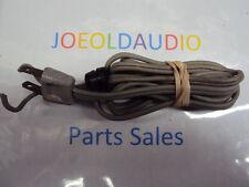 Sony NR 335 Original AC Line Cord w/ strain Relief. Parting Out Sony NR 335.