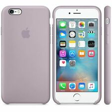 Genuine Silicone Case for Apple iPhone 6s / 6 in Lavender